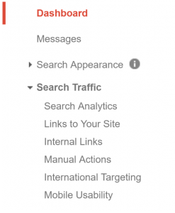 Top Mobile SEO: Google Search Console-Analytics