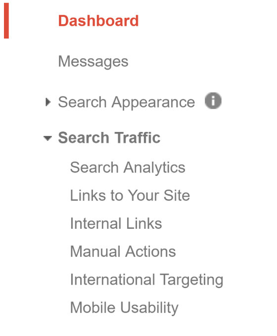 Top Mobile SEO: Google Search Console Analytics