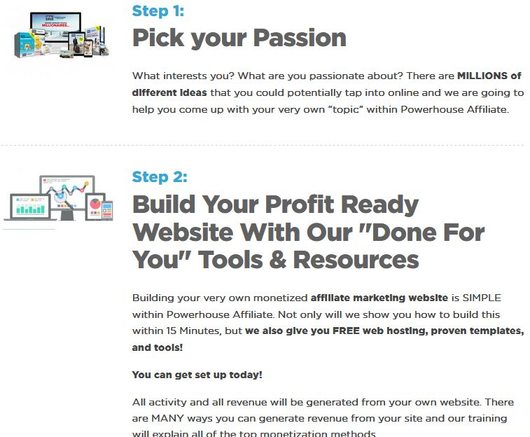 Powerhouse Affiliate - Pick your passion