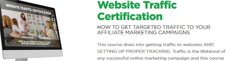 Website traffic certification
