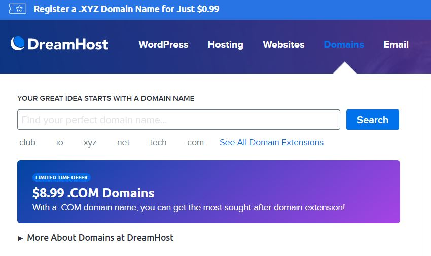 DreamHost Review